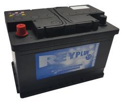 Bateria de arranque REY741 - BATERIA 74AH POS.IZQUIERDA