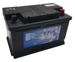 Bateria de arranque REY72.0 - BATERIA 72AH POS.DRCH.